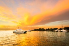 Where did I park my boat ? (Thierry Hudsyn) Tags: sony a6000 sel1018 sunset crazysky couchédesoleil