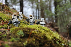 For the glory of the Empire! (kevinmboots77) Tags: lego legography starwars scoutrooper stormtrooper