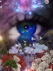 Mystic falls (AspirePhotography1) Tags: fairytales beautiful colour iris soul windows eyephotography eye mystic mystery