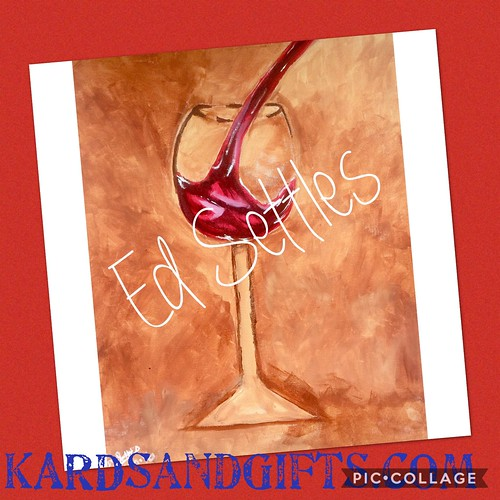 Check out these paintings. Available at KARDSandGifts.com #wine #clevelandbrowns #cleveland #browns #art #paintings #jordan #michaeljordan #mj #basketball #football