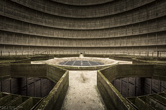 Subwoofer (Dennis van Dijk) Tags: cooling tower im eu ue belgium europe urbex urban exploration awesome beauty light mold moss science fiction abandoned forgotten architecture lost found decay moody strange structure