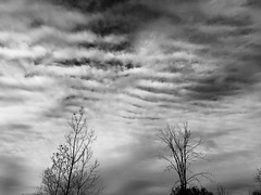 Rip in Heaven (SkySNAPS Photography) Tags: michigan pittsfield annarbor sky clouds blackwhite monochrone
