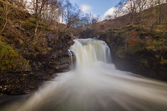 Falls of Falloch (Explored) (RichRobson) Tags: waterfall falloch falls trossachs scotland fullforce