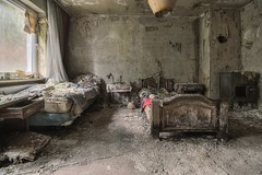 decay (Captured Entropy) Tags: hotel decay lostplace abandoned urbex derelict mold bed