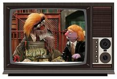 Trump Sesame Street parody, 2005 (Mike Licht, NotionsCapital.com) Tags: trump donaldtrump donaldgrump sesamestreet tv television childrenstelevision publicbroadcasting muppets pbs