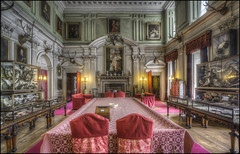 Calke Abbey (1) (Darwinsgift) Tags: calke abbey national trust derbyshire interior carl zeiss 15mm distagon f28 nikon d810 hdr photomatix tripod multiple exposures