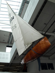 Firefly dinghy (chrisinplymouth) Tags: plymouthschoolofcreativearts firefly dinghy millbay redhouse devon england cw69x plymgrp boat sail uk