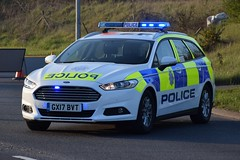 Sussex Police GX17 BVT Ford Mondeo (Sussex photos) Tags: sussex police gx17 bvt ford mondeo seen in eastbourne at road close pevensey rtc brand new