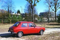 Simca 1100 (1976) (Analog World Thru My Lenses) Tags: nikon fa zoomnikkor3570mmf35 fujisuperiaxtra400 simca1100 march 2017 classic cars oldtimer vintage retro car auto