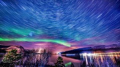 StarS (talv_ss) Tags: stars startrails auroraborealis northernlights lakes norway arctic scandinavia travelphotography travel night nightphotography longexposure nikon d610