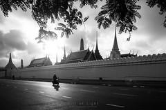 Bangkok in the morning (Gift of Light) Tags: bangkok thailand morning watphrakaew templeofemeraldbuddha temple church wat travel sun sunlight sku cloud day motorcycle ride traveldestination touristattraction road sonya6300 sony alpha sonyalpha a6300 sonyvariotessarte1670mmzaoss variotessar t e 1670mm 16704 41670 f40 za oss