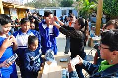 Entrega de lentes del programa Ver Bien para Aprender Mejor en la Ciénega Zimatlán
