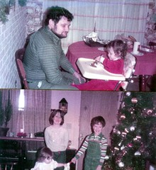 Christmasw again (Michael Vance1) Tags: 1980s family me man boy husband author writer journalist cartoonist wife woman daughter granddaughter mother christmas