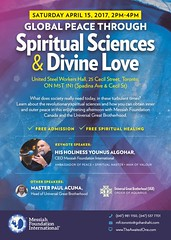 Announcement Global Peace Through Spiritual Sciences and Divine Love Programme (sgsumair) Tags: spirituality toronto canada love peace meditation astralprojection message divine sciences philosophy lecture programme unity purification enlightenment faith everlasting welcome heart soul