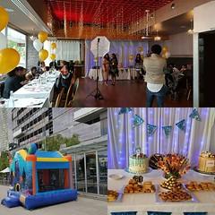 Happy birthday Shalom & Chris # party #BirthdayParty # venue # function # functionroom # functionvenue