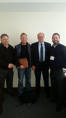 Greg Hass, Greg Nelson and Jason Christianson