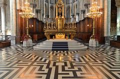 Saint-Omer (Pas-de-Calais) - Cathédrale Notre-Dame - Le Labyrinthe (Morio60) Tags: saintomer pasdecalais 62 cathédrale notredame