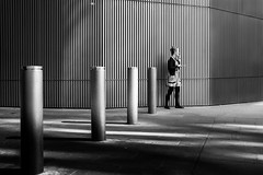 5 in a row (Jonathan Vowles) Tags: sequence rows smoker cheapside lines girl london