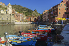 Porticciolo - Vernazza (M-Gianca) Tags: cinqueterre vernazza liguria mare barche boat