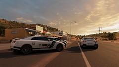 Dubai (nikitin92) Tags: game screenshots vidoegame forzahorizon3 pc car racing road sportscar nissan gtr bmw i8 lexus rc f dubaipolice