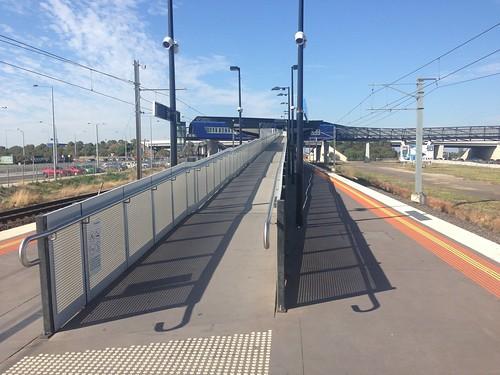 Williams Landing Railway Station ramp