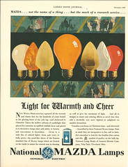 Ladies Home Journal, December 1929 (JeffCarter629) Tags: marvinpipkin gechristmas generalelectricchristmas ge generalelectric mazda mazdalamps lighting artdeco 1920s ladieshomejournal