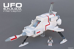 UFO | S.H.A.D.O. Interceptor (Andrea Lattanzio) Tags: ufo foitsop lego shado interceptor norton74 scifi spacecraft space classicspace tv tvseries minifig moonbase gerryanderson spaceship
