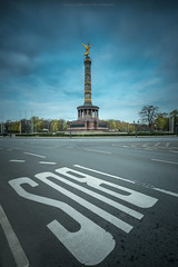Siegessäule Berlin (Sascha Gebhardt Photography) Tags: nikon nikkor d800 1424mm lightroom langzeitbelichtung haida travel tour roadtrip reise reisen berlin photoshop cc fototour fx hauptstadt germany deutschland
