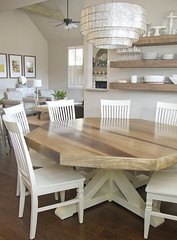 diy-octagon-dining-room-table-with-farmhouse-base (dearlinks) Tags: diy beautiful lavish trends creative home decoration improvement designs projects ideas plans tips inspiration