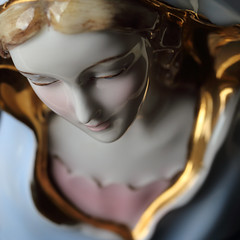 statue (Patrick JC) Tags: macromondays glaze lady statue macro