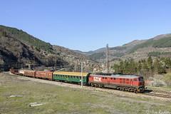 07 111 (Rivo 23) Tags: bdz bulgarian state railways diesel locomotive class 07 111 ludmilla 5d49 engine freight train special iskar gorge tompson stop бдж дизелов локомотив товарен влак железница