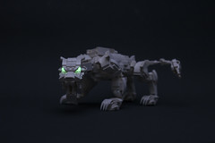 Crouching Tiger Hidden Cannon (ChristiansCreations) Tags: lego mecha mech zoid transformers beast