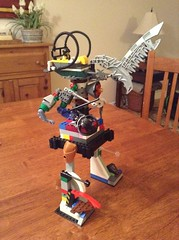Chief Booyah's Mech 2.0 (splinky9000) Tags: kingston ontario lego toys chief booyah mech robot minifigure