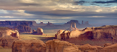 Hunts Mesa Sunrise (Spence Fairbanks) Tags: arizona southwest monumentvalley diamondclassphotographer flickrdiamond