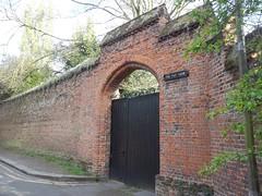 Tilt Yard (doojohn701) Tags: gate black tilt yard eltham uk southeast london trees