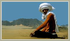 Touareg - Tassili n'Ajjer - Algérie / Algeria (1981) الجزائر (christian_lemale) Tags: tassili najjer algérie algeria 1981 déset desert sahara touareg targui طاسيلي ناجر djanet الجزائر جانت