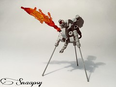 Nhetu-Pal M-12 (Snaapsy) Tags: лего lego робот мех snaapsy mech war afol france canada grey colors toy fire scifi space modern