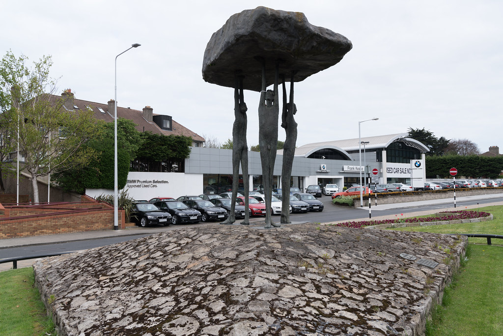 BLACKROCK DOLMEN BY ROWAN GILLESPIE [TEMPLE ROAD BLACKROCK]-126887