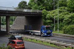 THZ 3825 - KDM HiRE Cookstown County Tyrone (Jonny1312) Tags: volkswagen passat lorry truck daf dafcf cookstown coleraine moundsandel londonderry