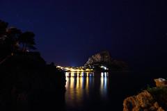 DSC_1783_01 (Giovanni Valentino) Tags: capo zafferano riflessi stelle sicilia sicily palermo santa flavia santelia notte night mare sea