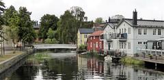 Small town houses (bokage) Tags: sweden norrtälje bokage architecture bridge