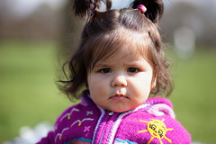 She Was (marinasantos6) Tags: kids familia children niña bebe naturallight marinasantos olivia family bokeh outdoor child 85mm face light canon portrait baby