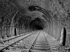 Light At The End of the Tunnel (Jason_Hood) Tags: dudley dudleytunnel abandoned disused railway railroad