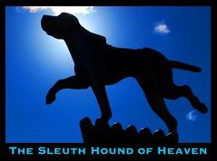 Heaven's Sleuth Hound (Leonard J Matthews) Tags: heaven hound sleuth lenjjones book publisher lordjesuschrist mythoto 1970 worldoutreachpublishers world outreach faith belief christianity provoke cloud sky statue hope