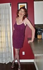 DSCF8658 (Rachel Carmina) Tags: cd tv ts tg trap tgirl trans transgender crossdresser heels nylons transvestite femme