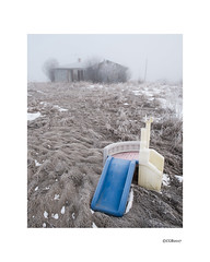 Abandoned in the fog. (local37) Tags: alberta abandoned fog slide house frost snow oncewashome