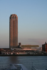 New Orleans tower by Alvaro Siza (waterboyzoo) Tags: netherlands architecture rotterdam maas kopvanzuid stage1 studytrip alvarosiza baaso