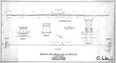 Tay Road Bridge - Design Proposal (Dundee City Archives) Tags: old city docks design waterfront dundee drawings tay newport proposal landfall engineers tayroadbridge tayestuary