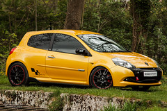 Clio 3 RS 2 - 11 (_Snp) Tags: 2 en 3 macro ex sport jaune canon de eos la dc sigma clio s apo renault v sirius l 16 mm brie phase rs 70200 rs2 cv 203 etang 70200mm 16v 500d 2l renaultsport ferrires 16s hsm 203cv 3rs2 taffarete