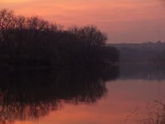 P1100219_edited-1 (lbj.birds) Tags: sunset nature kansas flinthills bigblueriver riverpondstatepark